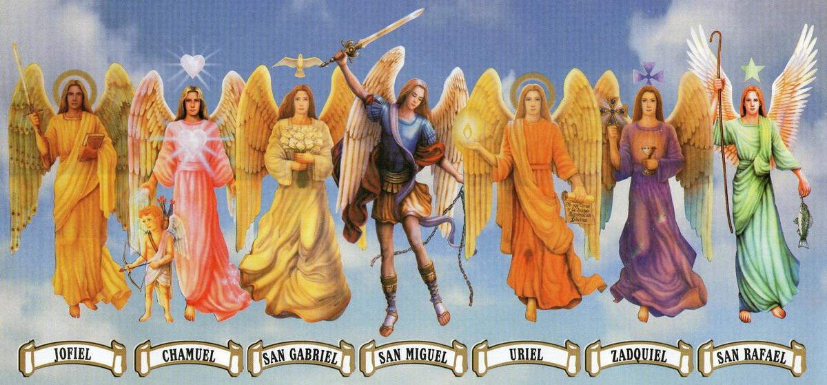 Rugaciunea celor 7 Arhangheli