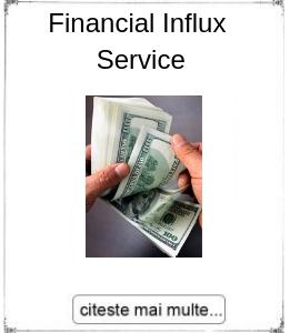 Initiere Feinancial Influx Service, oferita de maestrul Gabriela Bogdan