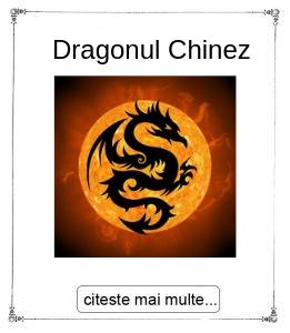 Dragonul Chinezesc, initiere oferita de maestrul Gabriela Bogdan