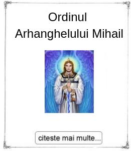 Initiere in Ordinul Arhanghelului Mihail, oferita de maestrul Gabriela Bogdan