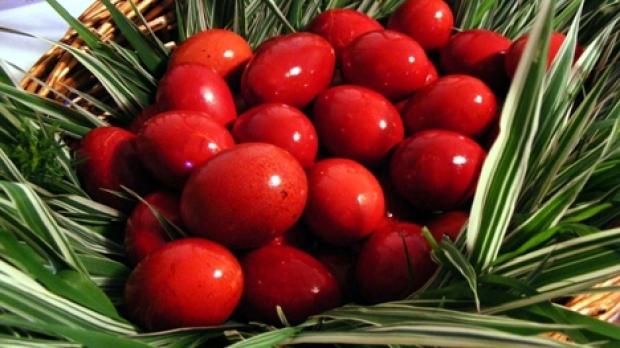 Semnificatia oualor rosii de Paste