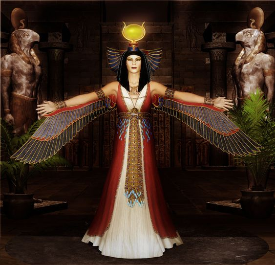 Isis (Aset) - Sotie si Mama iubitoare, initiere oferita de maestrul Gabriela Bogdan