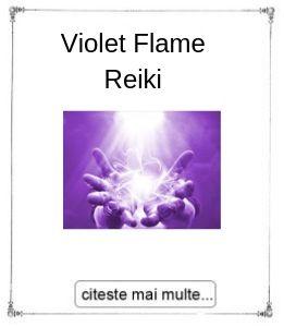 Violet Flame Reiki, intiere oferita de Gabriela Bogdan