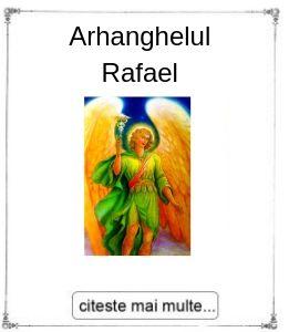 Arhanghelul Rafael, initiere oferita de maestrul Gabriela Bogdan