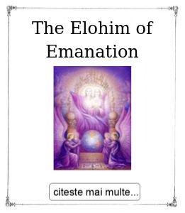The Elohim of Emanation, oferita de maestrul Gabriela Bogdan
