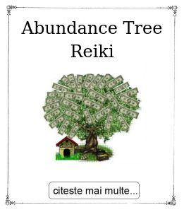 Abundance Tree Reiki, oferita de maestrul Gabriela Bogdan