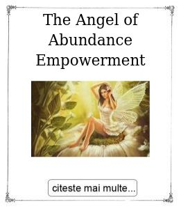 The Angel of Abundance Empowerment