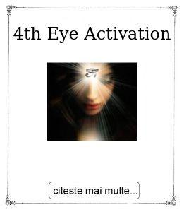 4th Eye Activation, oferita de Gabriela Bogdan