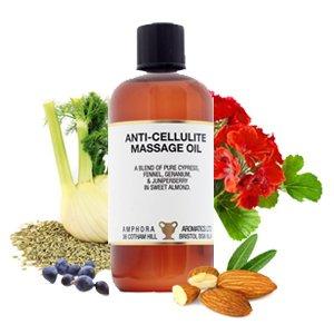 Ulei de masaj anticelulitic si drenaj limfatic - 100 ml