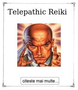 Telepathic Reiki, oferita de Gabriela Bogdan