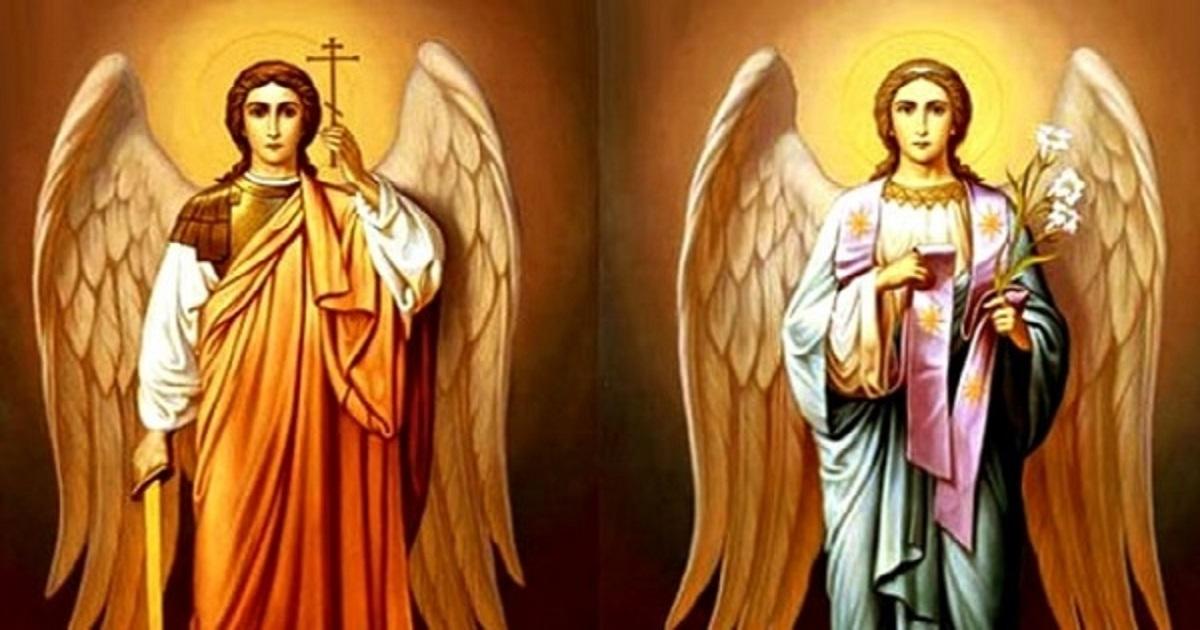 Rugaciune catre Sfintii Arhangheli Gavriil si Mihail