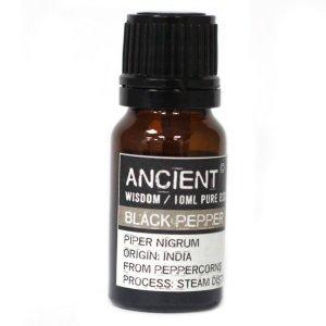 Ulei esential de piper negru - puritate 100 % - 10 ml