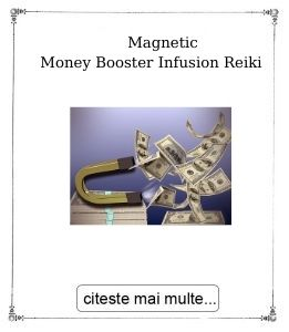 Magnetic Money Booster Infusion Reiki Empowerment