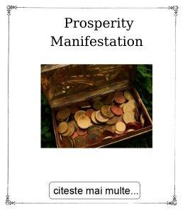 Prosperity Manifestation