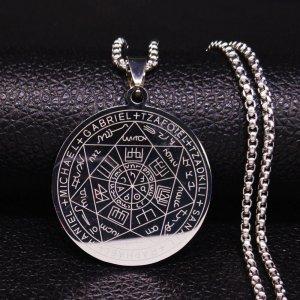 Talisman cu Pentagrama si Sigiile celor 7 Arhangheli