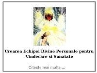 Crearea Echipei Divine Personale pentru Vindecare si Sanatate