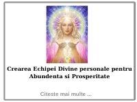 Crearea Echipei Divine Personale pentru Abundenta si Prosperitate