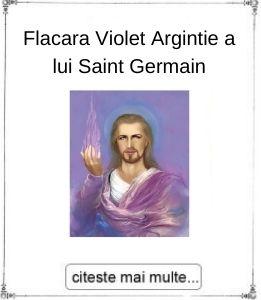 Flacara Violet Argintie a lui Saint Germain